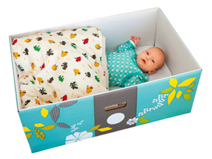 The Baby Box, helping to tackle infant mortality around the world.